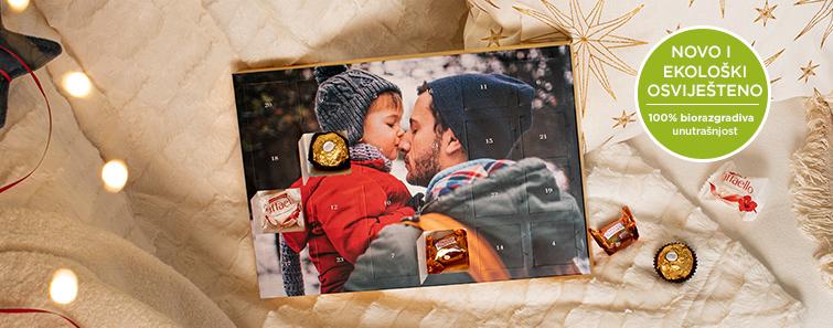 Calendar de advent premium cu praline Ferrero®
