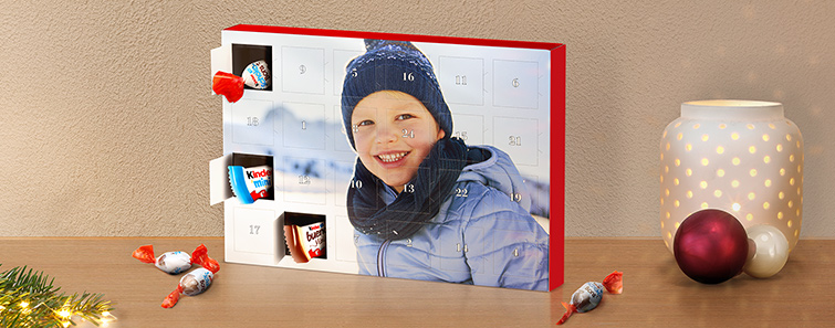 Čokoladni adventski kalendar s kinder ® proizvodima
