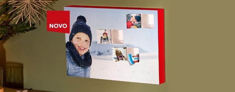 Adventski fotokalendar s kinder® proizvodima