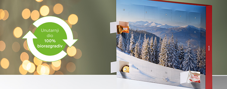 Premium adventski kalendar s Ferrero pralinama