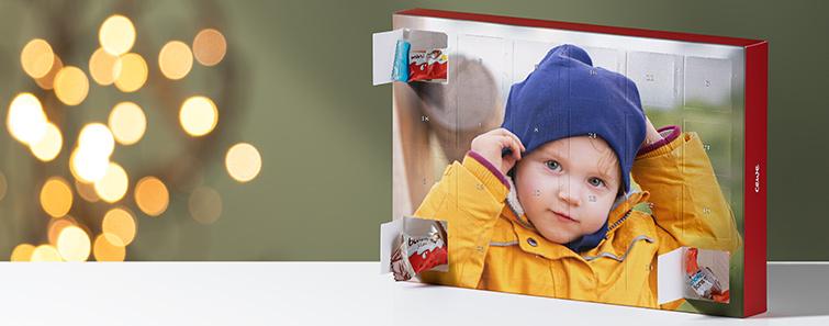 Čokoladni adventski kalendar s Kinder proizvodima