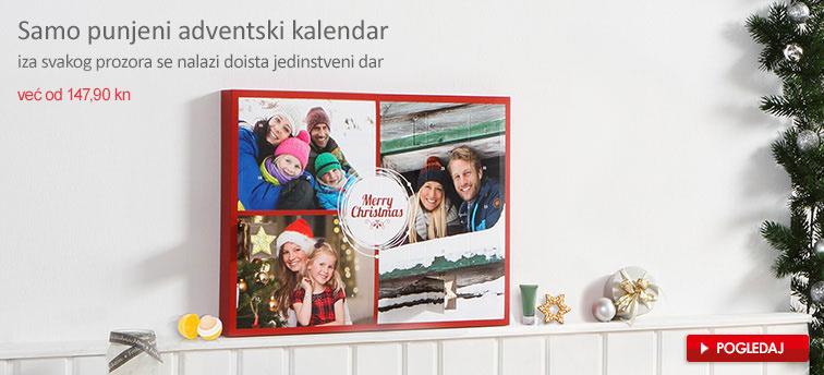 Samo punjeni adventski kalendar