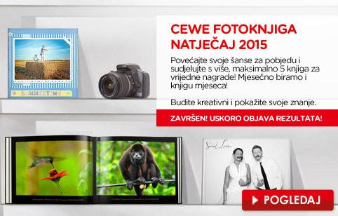 CEWE FOTOKNJIGA natječaj
