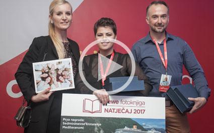 Svečana dodjela nagrada CEWE fotoknjiga natječaja 2017 - prilog NovaTV In magazin