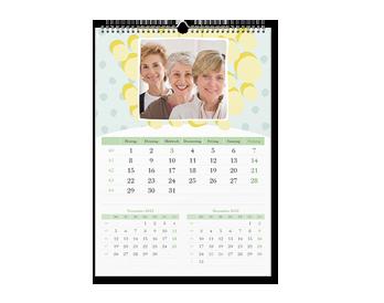 A3 Zidni kalendar (3 mjeseca na jednoj stranici)