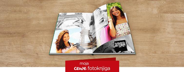 Izrada Velike CEWE FOTOKNJIGE na sjajnom fotopapiru-cewe.hr