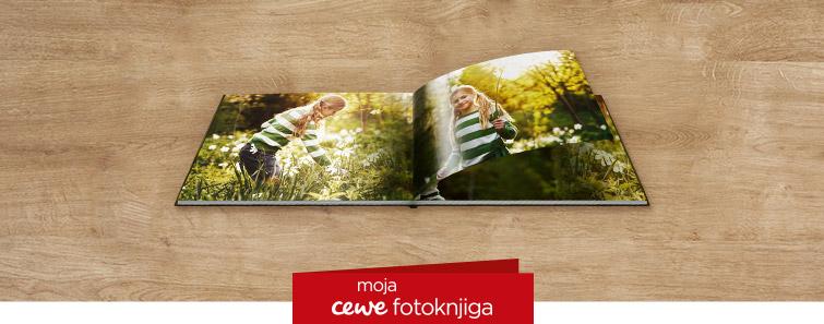 Izrada Kompaktne panoramske CEWE FOTOKNJIGE na mat fotopapiru- cewe.hr
