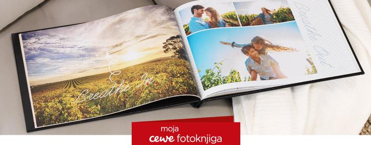 Izrada XXL panoramske CEWE FOTOKNJIGE-Cewe