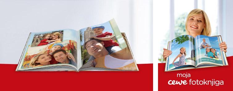 Izrada jedinstvene XL CEWE FOTOKNJIGE- Cewe
