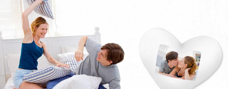Jastuk u obliku srca