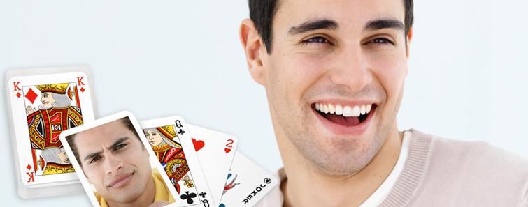 Izrada poker karte s fotografijom- cewe.hr