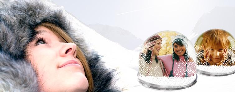 Izrada jedinstvene snježne kugle s fotografijom- cewe.hr