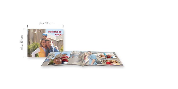 Format fotoknjižice - Kompaktna panoramska CEWE FOTOKNJIGA