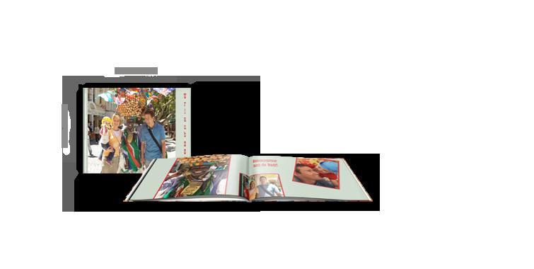 Visokosjajni papir - Kompaktna panoramska CEWE FOTOKNJIGA