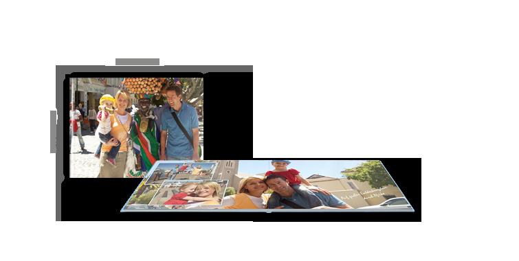 Na mat fotopapiru - Velika panoramska CEWE FOTOKNJIGA