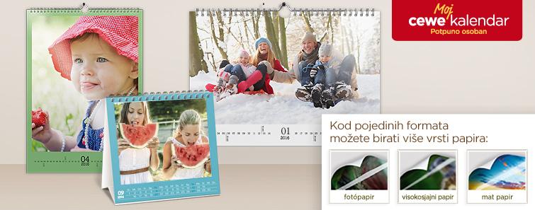 Izrada Foto kalendara - Cewe.hr
