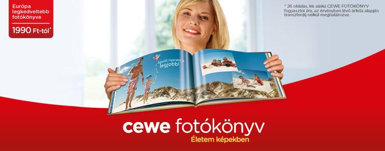 CEWE FOTÓKÖNYV rendelés - foto.edigital.hu