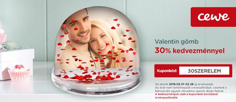 Valentin gömb -30%
