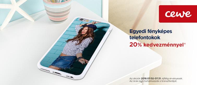 Fényképes telefontokok -20%