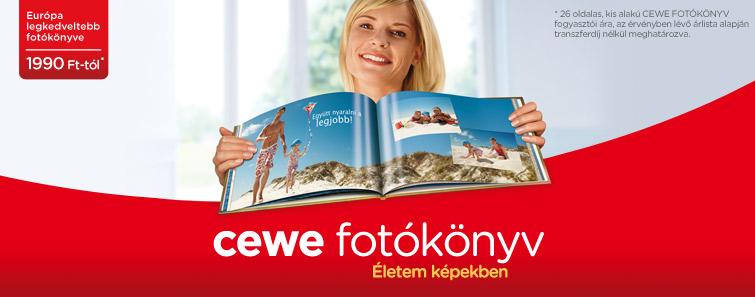 CEWE FOTÓKÖNYV készítés online - Cewe