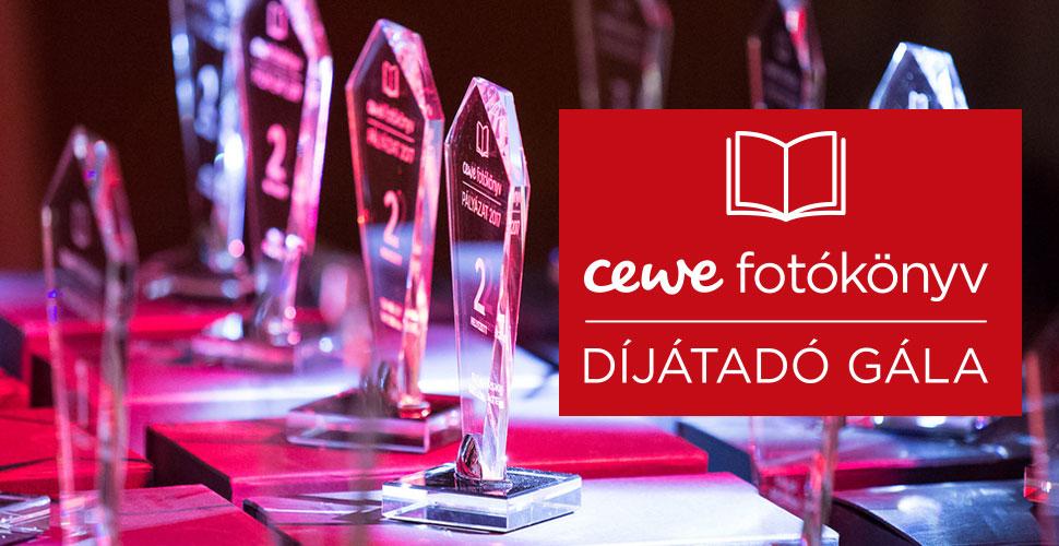 CEWE FOTÓKÖNYV Pályázat 2017 - díjátadó gála