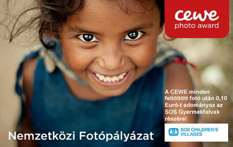 CEWE FOTÓKÖNYV Pályázat 2018