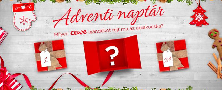 Adventi nyereményjáték - Milyen CEWE ajándékot rejt ma az ablakocska?
