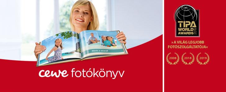 CEWE FOTÓKÖNYV rendelés legszebb képeidből – foto.edigital.hu