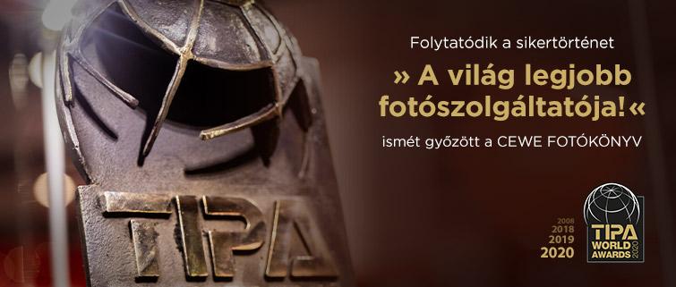 Negyedszer is elnyertük a neves TIPA World Award díjat