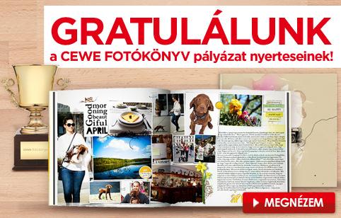 CEWE FOTÓKÖNYV Pályázat 2015 - eredményhirdetés