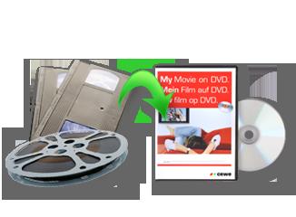 Videó átjátszása DVD-re - Cewe