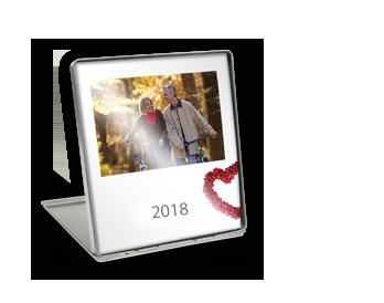Asztali dísznaptár oldalak prémium fotópapírra nyomtatva