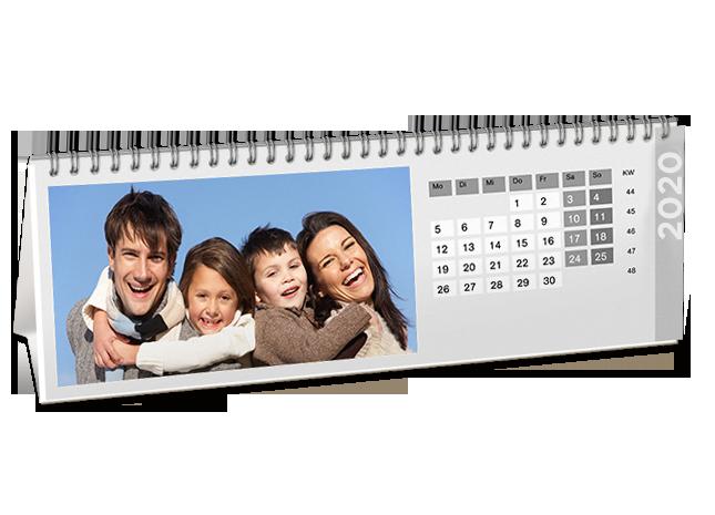 Kedvenc fotói az állítható asztali naptár oldalakon