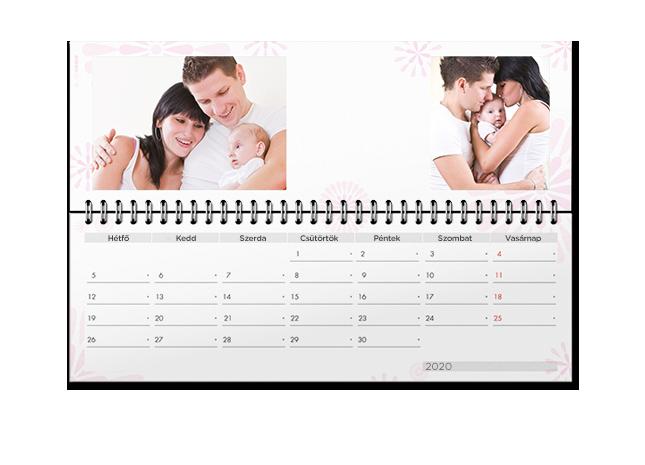 Fontos események és határidők az asztali naptárban