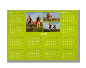 A3 Éves határidőnaptár