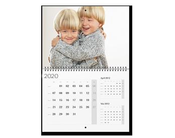 A2 határidőnaptár (3 hónap egy lapon)