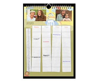 Legszebb képei 12+1 A3 családi határidőnaptár oldalon