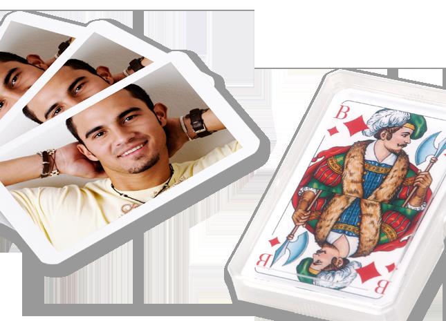 32 lapos fényképes játék kártya pakli - Cewe
