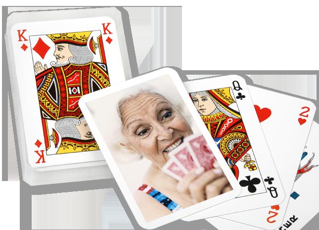 32 lapos fényképes póker kártya pakli - Cewe