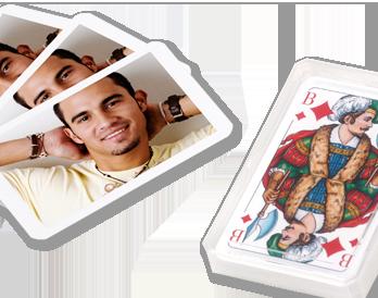 Fényképes skat kártya készítés a hangulatos estékhez