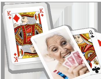 Fényképes póker kártya készítés a hangulatos estékhez
