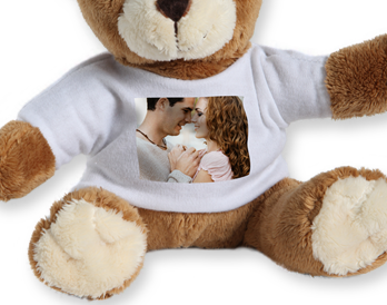 Egyedi plüss maci ajándék készítés gyermekeknek