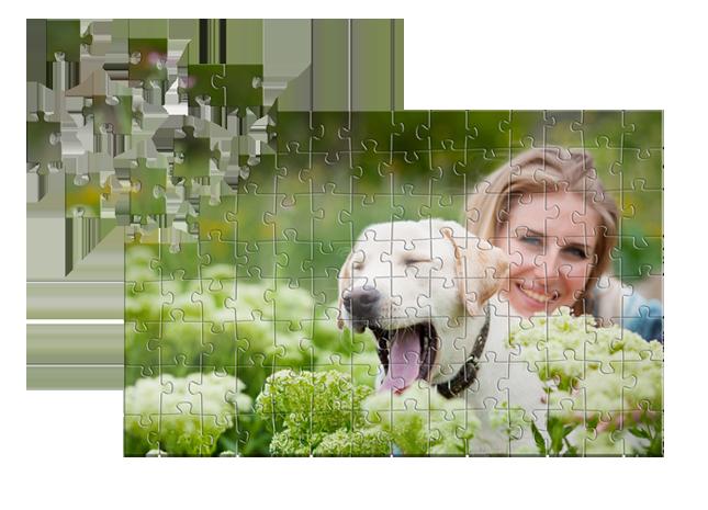 Digitális képe 112 db-os puzzle formájában