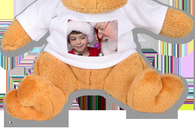 Plüss szarvas egyedileg tervezhető fehér pólóban - Cewe