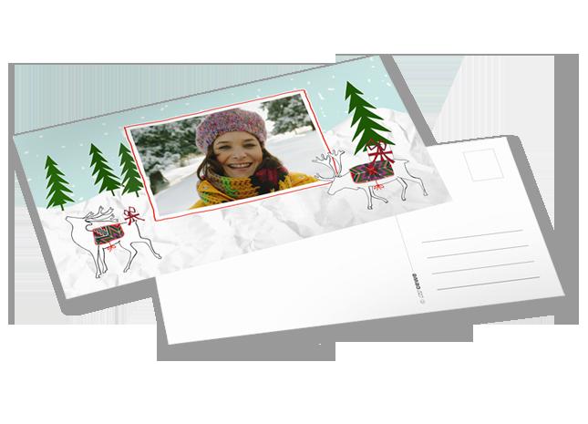 10 darabos nagy méretű XL képeslap csomag - Cewe
