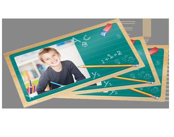 Üdvözlőkártya fotópapíron - alkalomhoz illő designnal