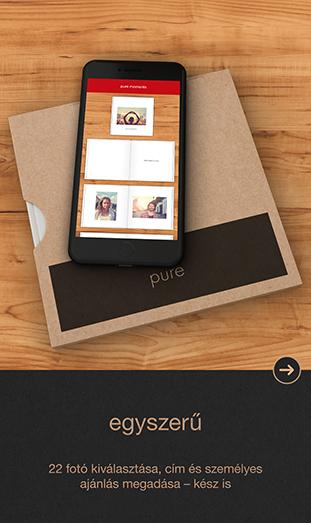 CEWE FOTÓKÖNYV Pure App - egyszerű