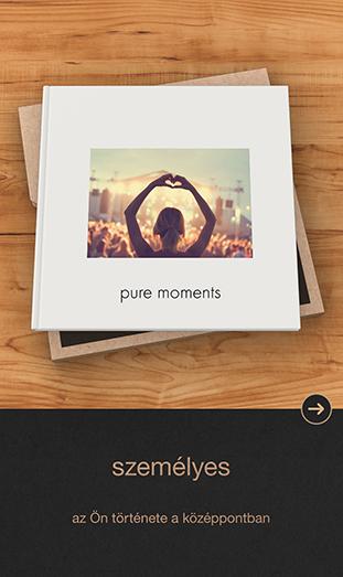CEWE FOTÓKÖNYV Pure App - személyes