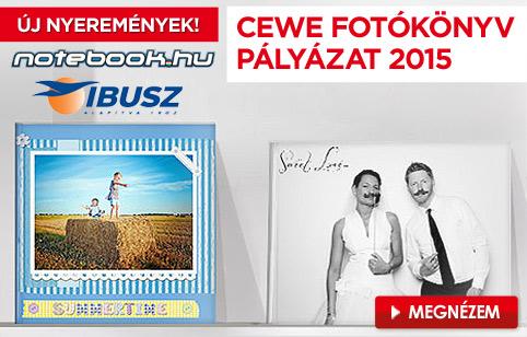 CEWE FOTÓKÖNYV Pályázat 2015