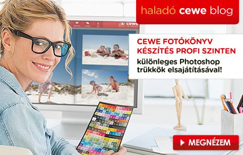 Haladó CEWE FOTÓKÖNYV blog